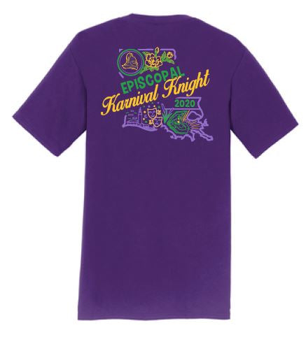 2020 Karnival / Short Sleeve / T-Shirt / Purple / Youth and Adult Sizes