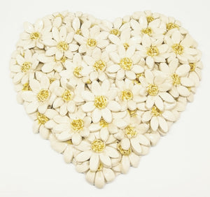 Medium Flower Heart