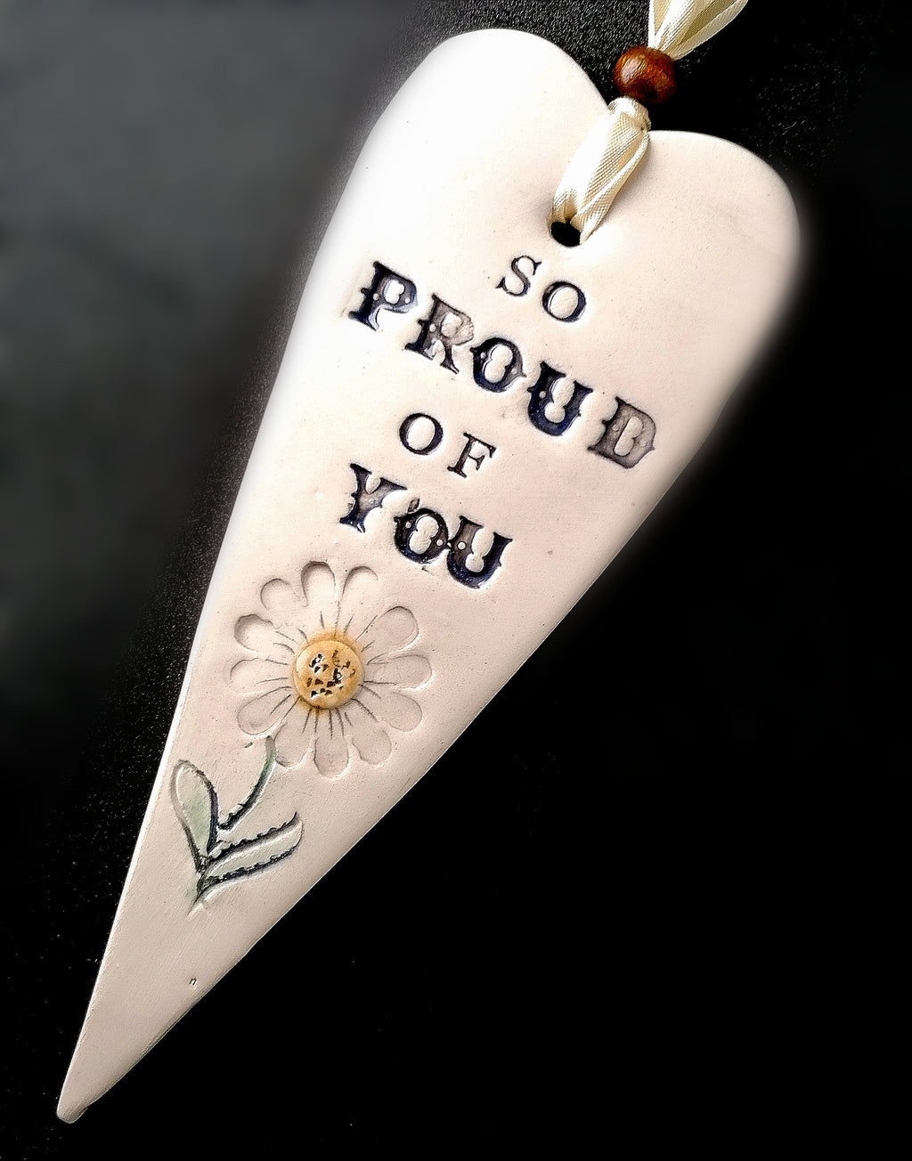 'Proud of You' Small Heart