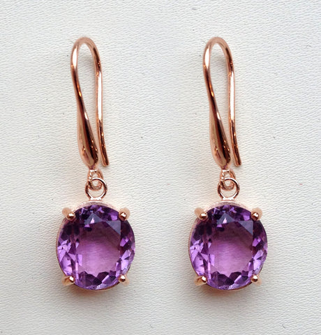 bespoke drop earrings