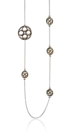 Domus Long Multi-Pendant Necklace