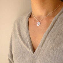 Load image into Gallery viewer, Domus Small Pendant Necklace