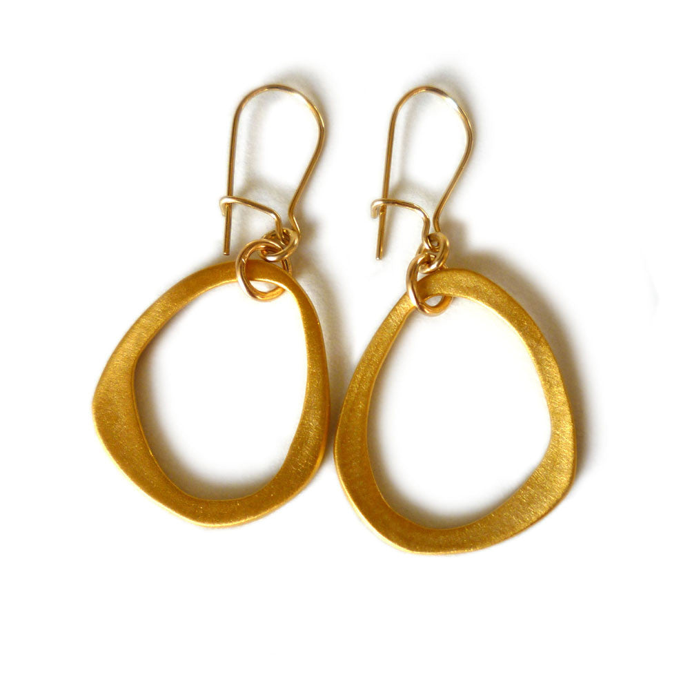 Eternal Ring Drop Earrings