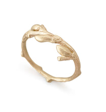 Load image into Gallery viewer, Willow Twig Ring in 9 carat Gold