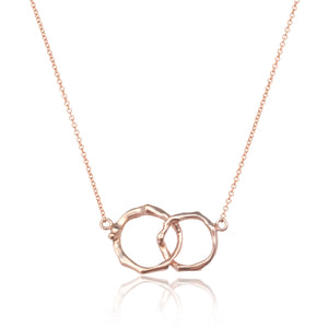 Cherry Twig Infinity Necklace