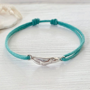 Paradiso Crab Claw Friendship Bracelet in Sterling Silver