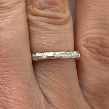 Load image into Gallery viewer, Cypress Twig Diamond Eternity Ring in 9 carat Gold