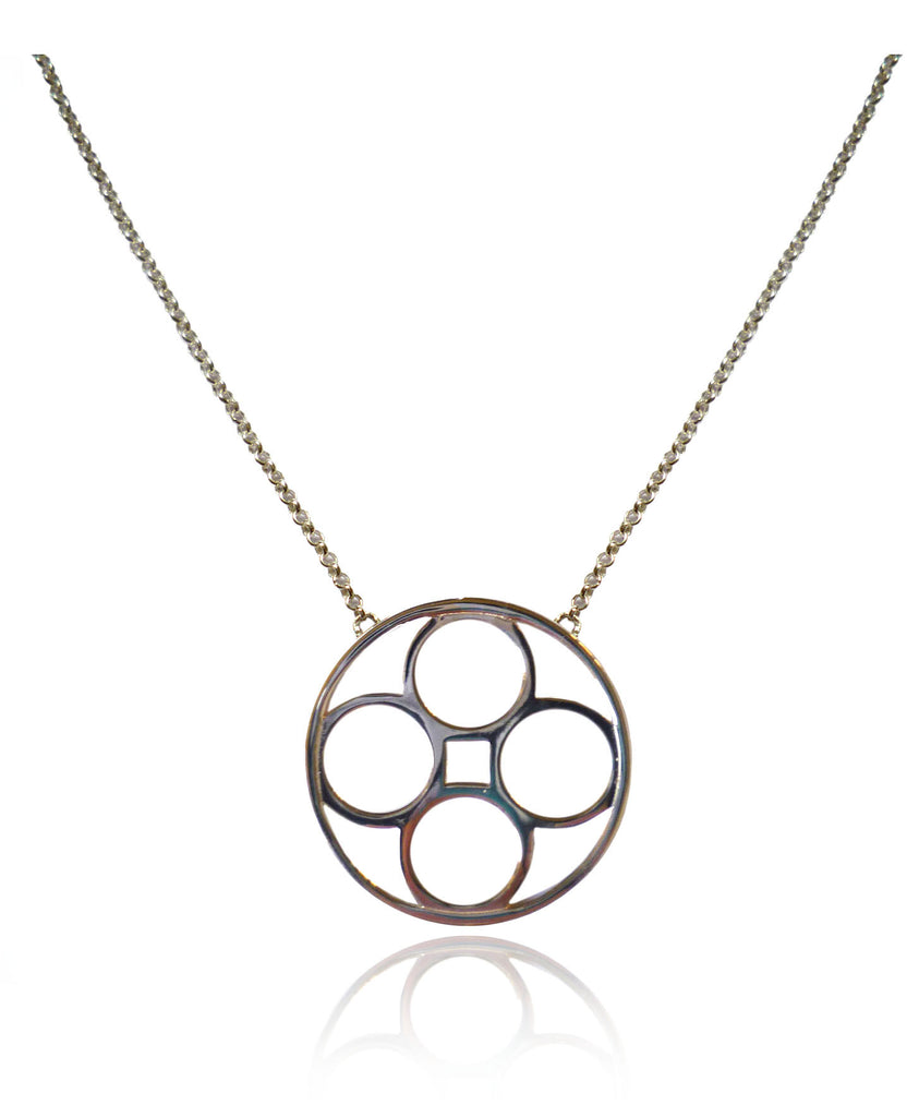 Domus Medium Pendant Necklace