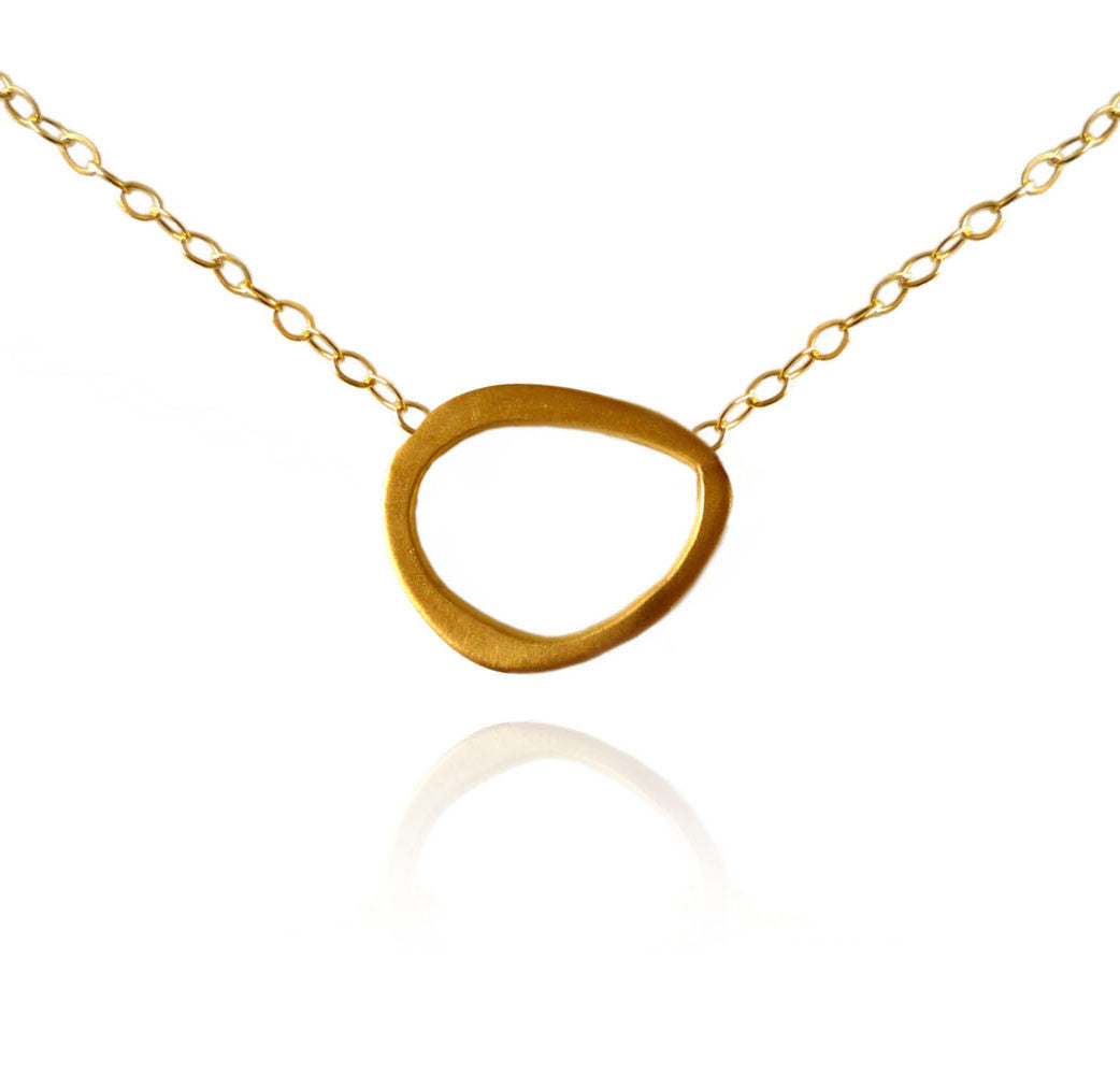 Eternal Ring Single Charm Necklace