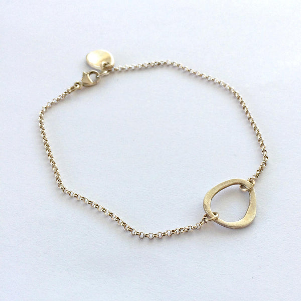 Eternal Ring Small Charm Bracelet