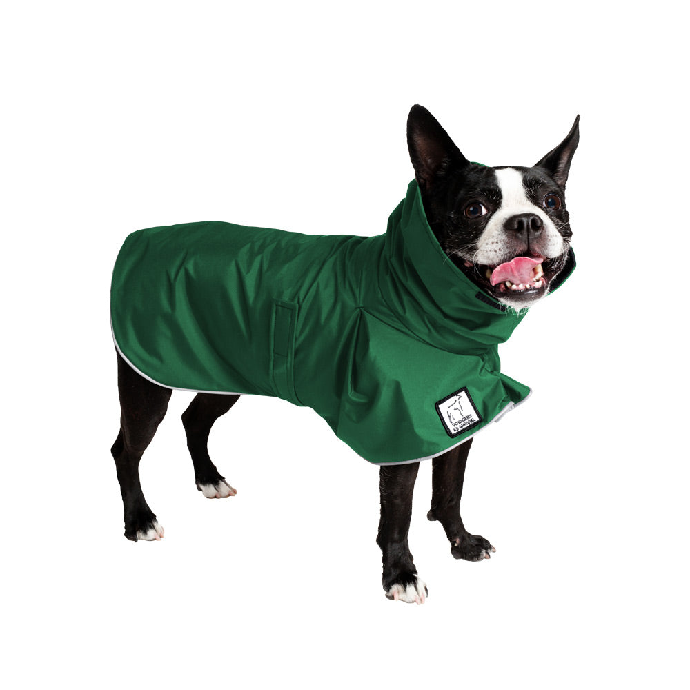 Voyagers K9 Apparel Boston Terrier Rain Coat