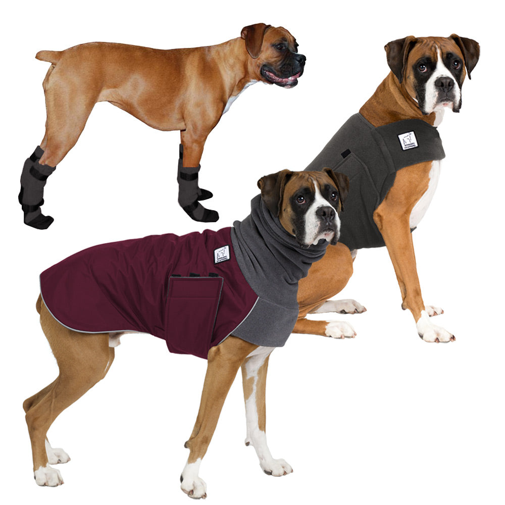 Voyagers K9 Apparel Boxer Cold Climate Combo