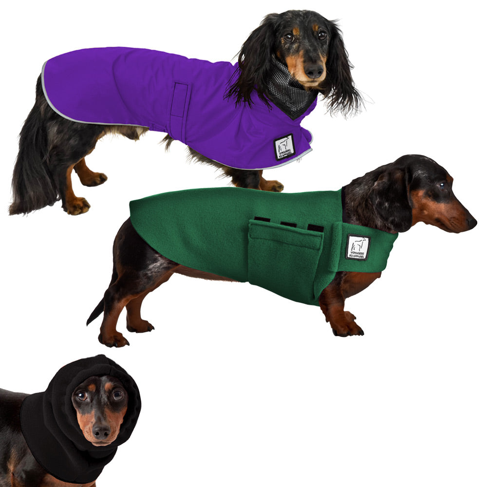 Voyagers K9 Apparel Miniature Dachshund Warm Climate Combo