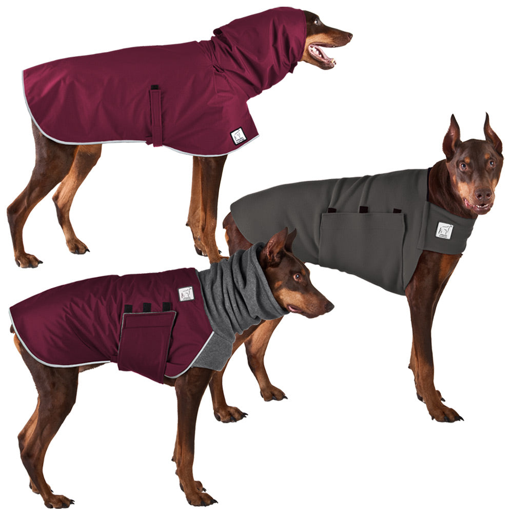 Voyagers K9 Apparel Doberman Pinscher All Weather Combo