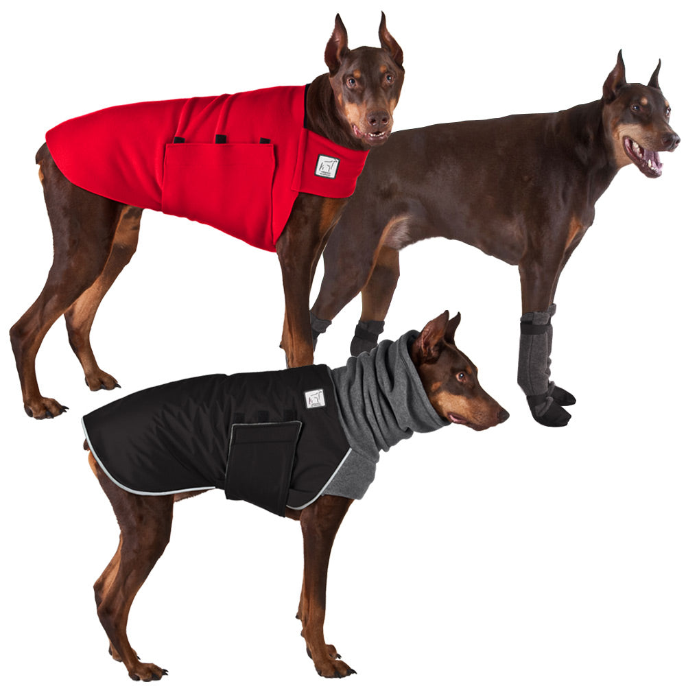 Voyagers K9 Apparel tDoberman Pinscher Cold Climate Combo