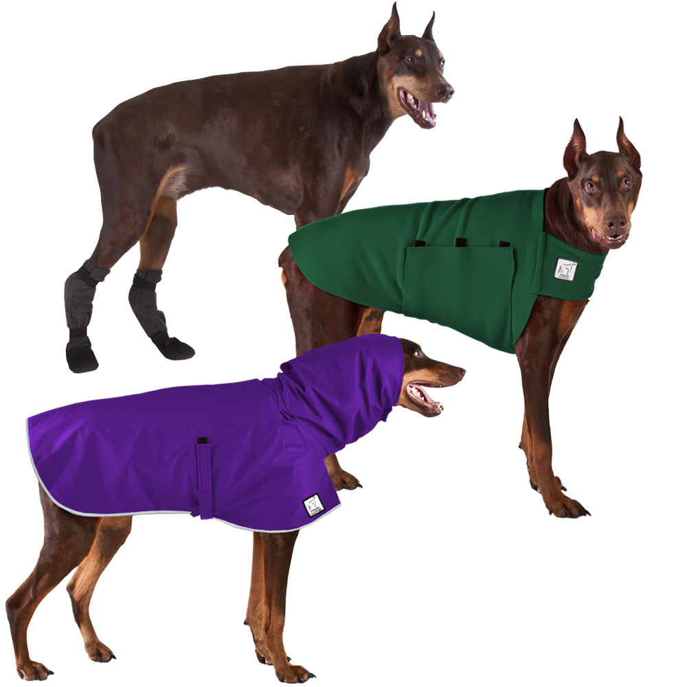 Voyagers K9 Apparel Doberman Pinscher Moderate Climate Combo