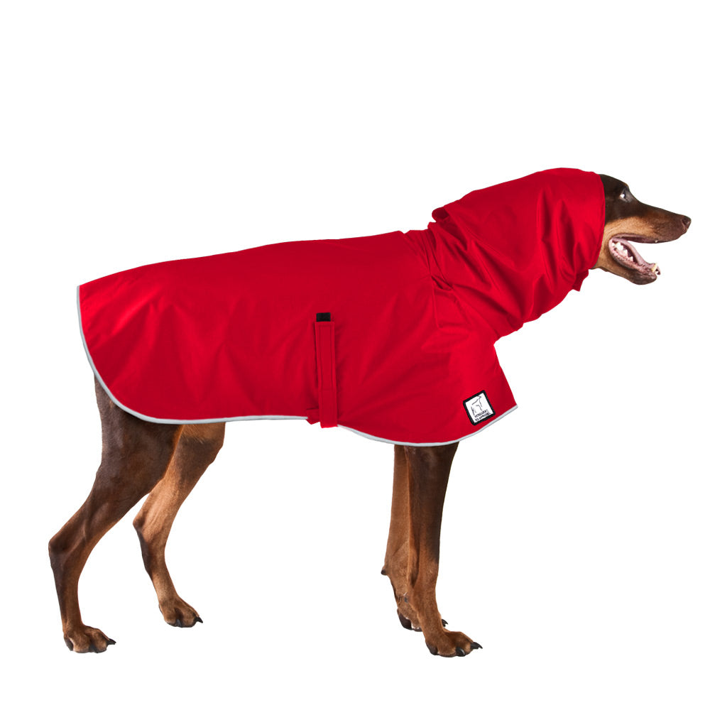 Voyagers K9 Apparel Doberman Pinscher Rain Coat