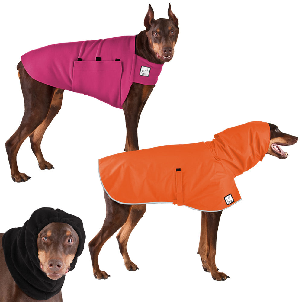 Voyagers K9 Apparel Doberman Pinscher Warm Climate Combo