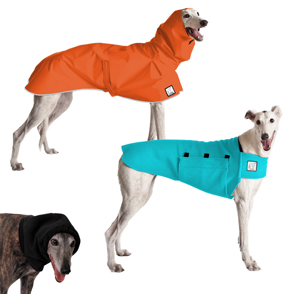 Voyagers K9 Apparel Greyhound Warm Climate Combo