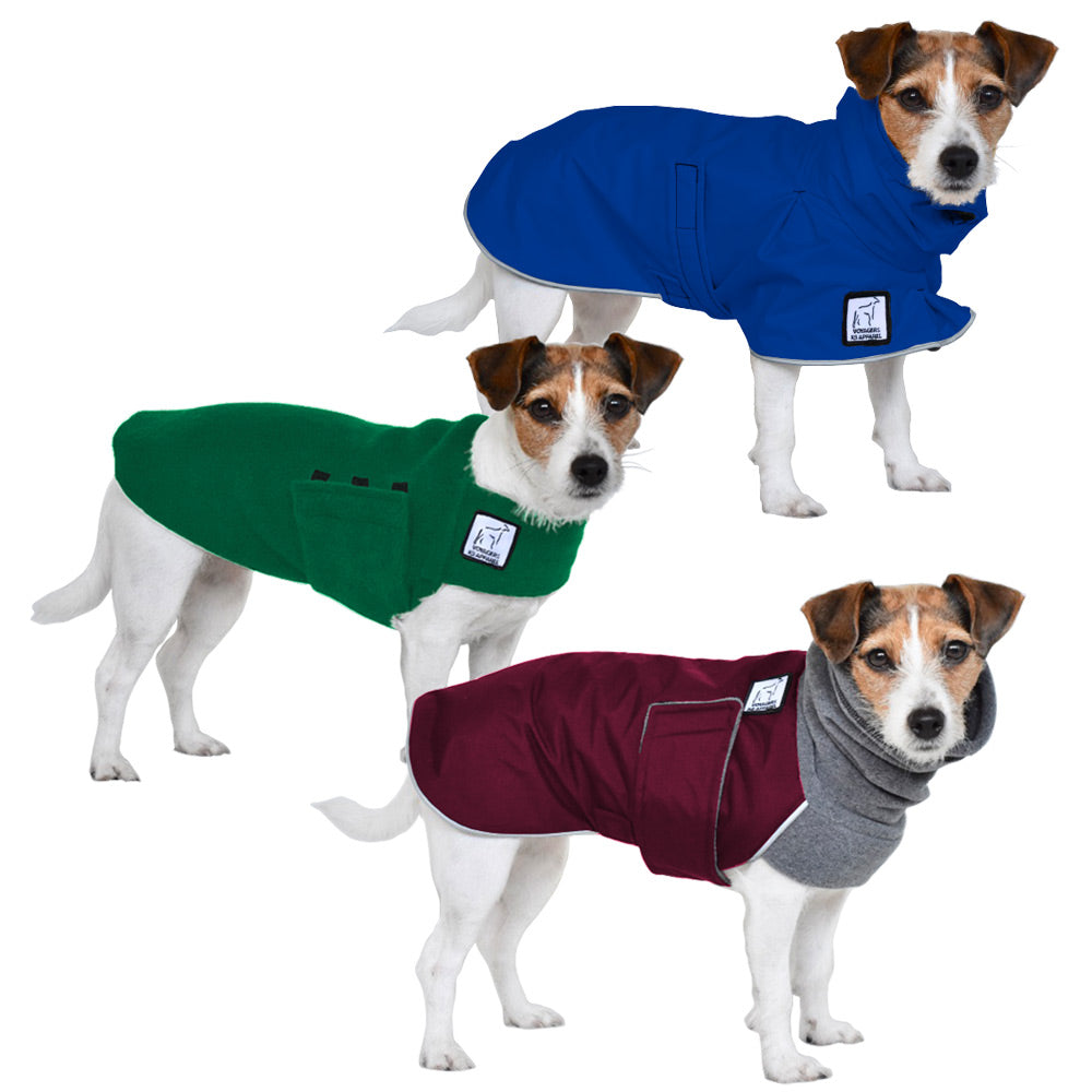 Voyagers K9 Apparel Jack Russell Terrier All Weather Combo