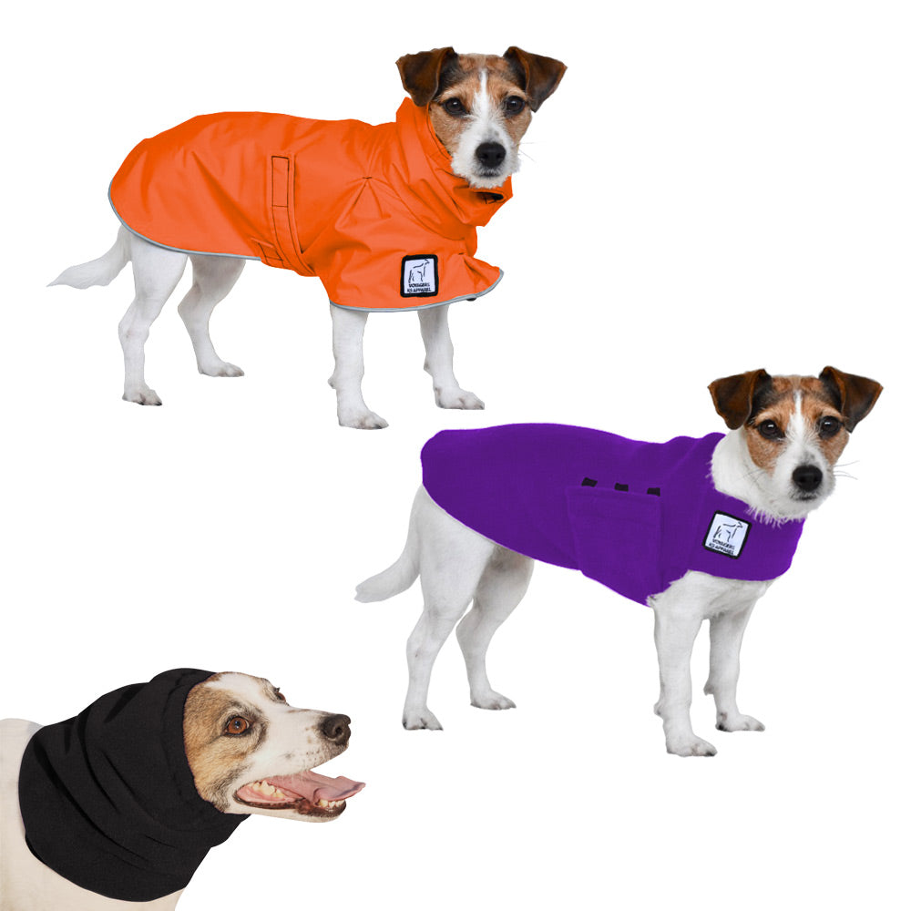 Voyagers K9 Apparel Jack Russell Terrier Warm Climate Combo