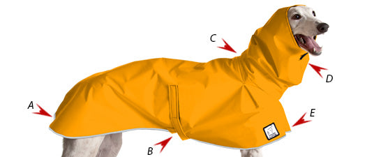Features of Voyagers K9 Apparel Dog Rain Coat