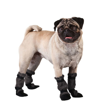 Pug Dog Booties - Voyagers K9 Apparel