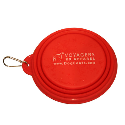 Voyagers K9 Apparel collapsible dog water bowl