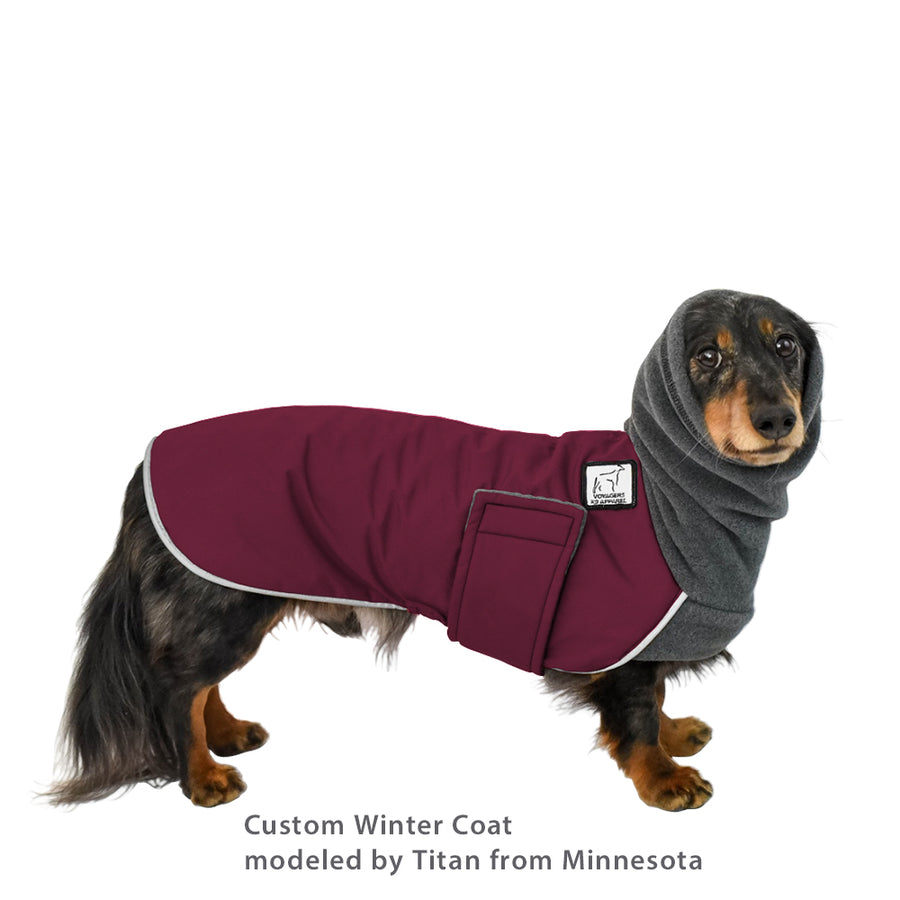 Custom Dog Winter Coat - Voyagers K9 Apparel