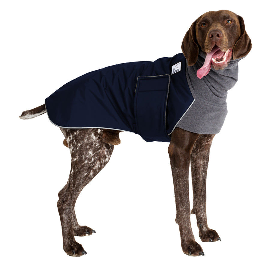 German Shorthaired Pointer Winter Coat - Voyagers K9 Apparel