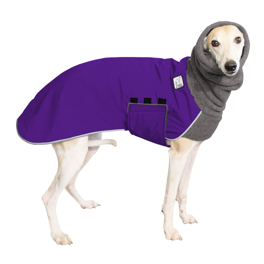 Whippet Winter Coat (Purple) - Voyagers K9 Apparel