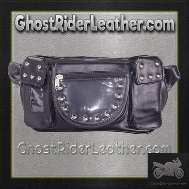 Motorcycle Magnetic TankBag with Studs / SKU GRL-TB3038-PV-DL