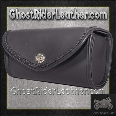 Motorcycle Windshield Bag with Braid Design / SKU GRL-WS14-DL