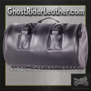 Round Motorcycle Sissy Bar Duffle Bag  / SKU GRL-SB4-DL - USA Biker Leather