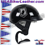 DOT POW MIA Motorcycle Helmet / Never Forget / SKU USA-1VPOW-HI - USA Biker Leather - 3