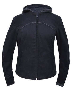UNIK Ladies Denim Hoody Jacket