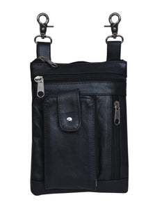 UNIK Ladies Clip on Bag with 3 Storage Pockets