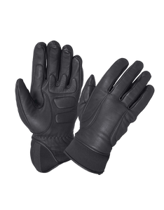 UNIK Full Finger Leather Gloves - USA Biker Leather