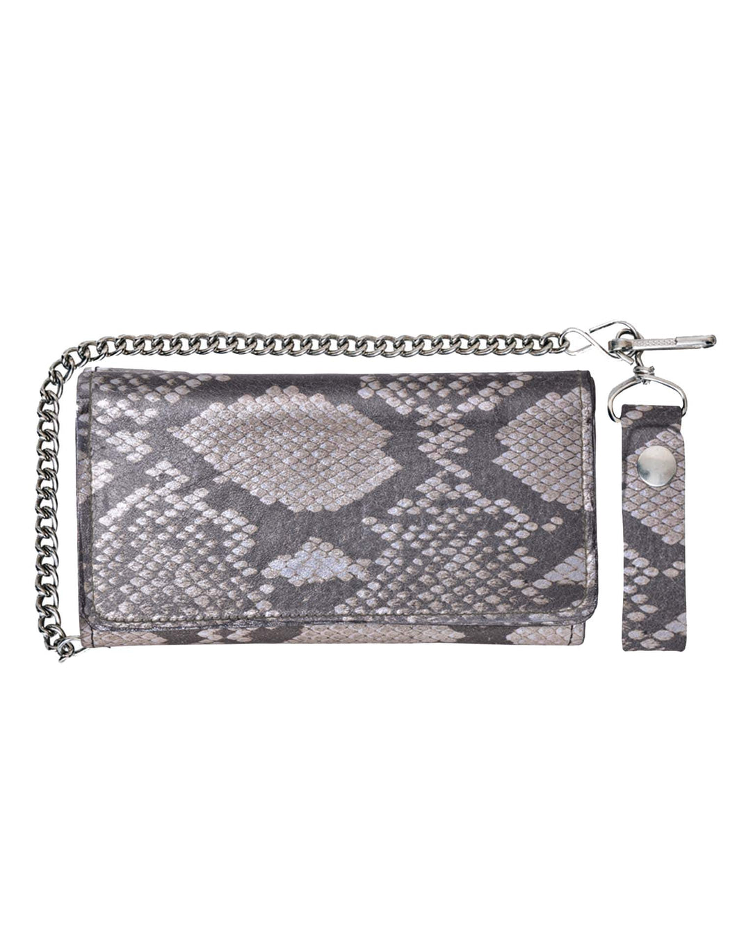 UNIK Leather Biker Chain Wallet - USA Biker Leather