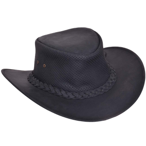 UNIK Leather Outback Hats - USA Biker Leather