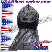 Perforated Doo-Rag / SKU USA-AC8-DL - USA Biker Leather - 2