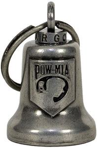 POW MIA - Motorcycle Guardian Ride Bell - SKU USA-BL18-GM-DL - USA Biker Leather