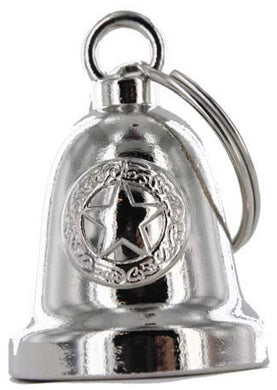 Police Star - Motorcycle Ride Bell - SKU USA-BLC24-DL - USA Biker Leather