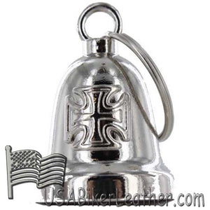 Iron Cross - Chopper Cross Motorcycle Ride Bell - SKU USA-BLC26-DL - USA Biker Leather