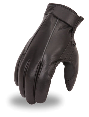 Napoleon Glove W/ Reflective Stripe - USA Biker Leather