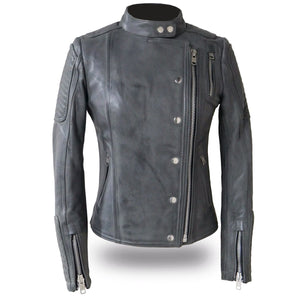Warrior Princess - Women's Leather Motorcycle Jacket - USA Biker Leather