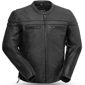 The Maverick - Motorcycle Leather Jacket - USA Biker Leather