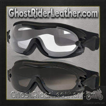 Daytona Goggles Fit Over Eyeglasses - Clear or Smoke / SKU GRL-G-FOG-C-S-DH