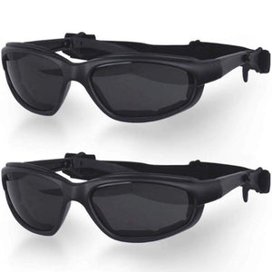 His and Hers Daytona Goggles With Smoke Lens / SKU GRL-G-S-HH-DH