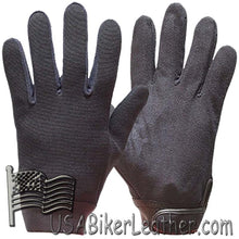 Black Mechanics Gloves - SKU USA-GLZ50-DL